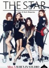 miss A登THE STAR杂志10月刊封面