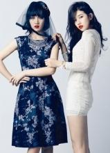 Miss A时尚杂志allure唯美写真