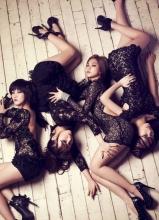 韩国当红组合Miss A音乐写真