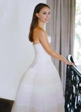 娜塔丽·波特曼唯美婚纱照写真