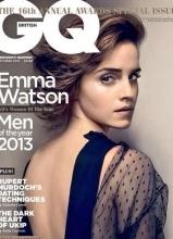 艾玛·沃特森登GQ封面 露香肩美背秀性感