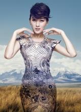 马苏另类时尚写真 魅力演绎春夏秋冬