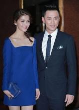 林峯携女友吴千语出席黄子桓婚礼