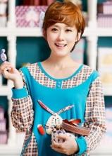 韩星张娜拉居家写真 甜美娇俏可爱卖萌