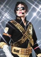 迈克尔·杰克逊不朽传奇世界巡演现场照
