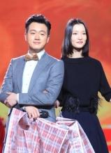 东方卫视春晚录制现场  邓超佟大为搞怪走秀