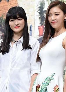 韩女星河智苑携手亲姐姐参加真人秀《和姐姐?#40644;餑OGO》