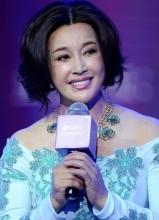 刘晓庆优雅表态慈善活动 完美身材凹凸有致