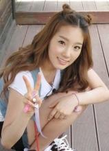 金泰妍可爱自拍生活照