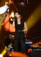 李宇春江苏卫视2013年春晚节目录制图