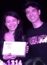 王力宏新加坡跨年演唱会 与妻子李靓蕾秀恩爱