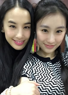 杨子新欢王婉中美艳生活照 黄圣依翻版成热议