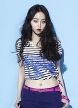 安昭熙杂志写真 红唇猫眼复古诱惑