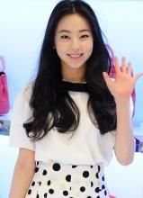 Wonder Girls安昭熙娇俏出席女包品牌开业