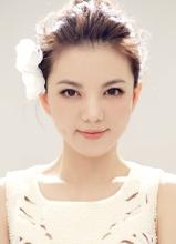 李湘全新唯美視覺大片 清新淡雅美少女