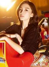Angelababy杂志时尚写真