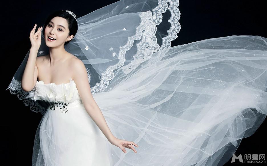 点击大图看下一张:范冰冰时尚甜美婚纱高清写真(0)
