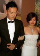 陈妍希与陈汉典为新片《爱的面包魂》出席谢票活动