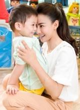 张柏芝全新广告片 母爱泛滥温馨感人