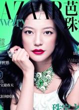 赵薇知性登杂志封面 秀贵重珠宝