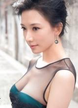 林志玲透视装拍写真 大秀事业线
