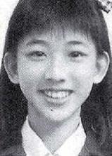 林志玲高中时代私房照暴光 长相清秀身材好