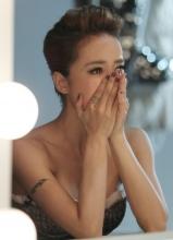 蔡依林新歌MV拍摄 现场狂飙眼泪
