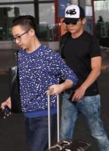 李晨蕉萃现身北京机场 将赴陈赫婚礼