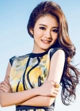 安以轩登风尚志杂志封面优雅动人
