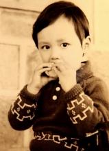 曝光冯绍峰儿童时代的生活照