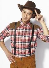 乔振宇全新帅气写真 玩转帽子显百变气质