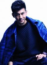 乔振宇全新时尚写真 留有胡子渣展绅士熟男魅力