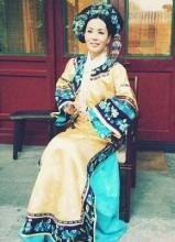 王菲微博發布清宮照 驚艷網友
