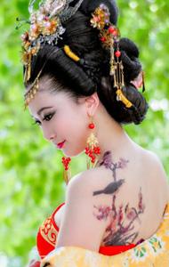 唐服古装美女 性感优雅