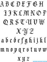 有关于家庭的藏文文字纹身图案