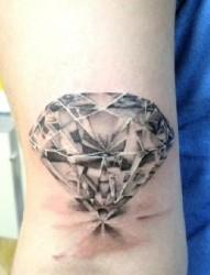 超闪的钻石纹身