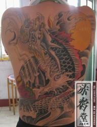 男士个性经典纹身