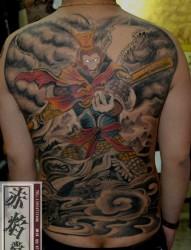背部纹身图案选集