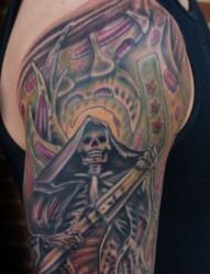 个性的死神纹身