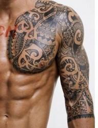 特性的半甲纹身   时髦人士的选择