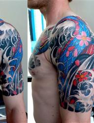 kore-传统作品半甲纹身