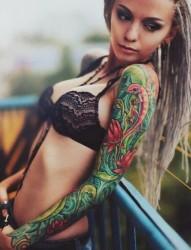纹身让我遇见最美的你