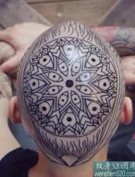 10张头部霸气个性刺青,你敢纹吗?