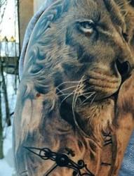 王者之魂 狮王纹身