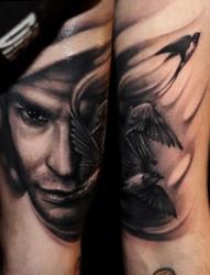 经典另类肖像纹身
