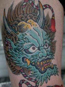 日式传统纹身刺青