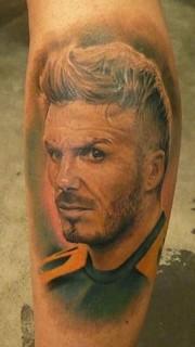贝克汉姆纹身图案大全