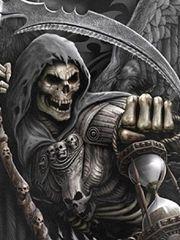 逝世神来了炫酷帅气的逝世神纹身素材