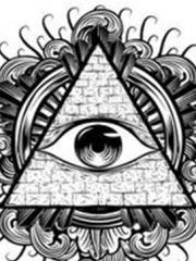 上帝之眼纹身手稿素材