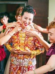 中式婚礼红的喜悦
